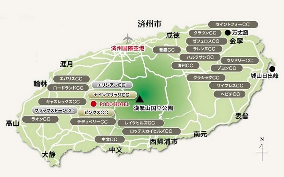 jeju_golfcourse_map